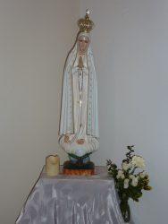 Putovní socha Panny Marie Fatimské 1
