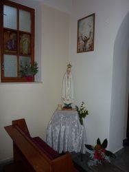 Putovní socha Panny Marie Fatimské 2