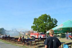 Požární útok v Ostrovánkách