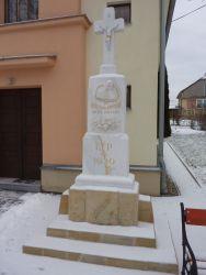 Kříž u kaple sv. Václava